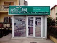 Магазин мебели и мебельных материалов «Green les» в Подгорице