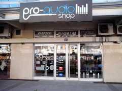 Магазин аудио и видео техники и оборудования «Pro-audio» в Подгорице