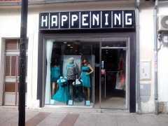 Бутик женской одежды «Happening» в Подгорице