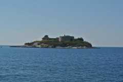 Остров и крепость Мамула в Черногории