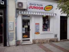Бутик детской одежды «Junior» в Подгорице