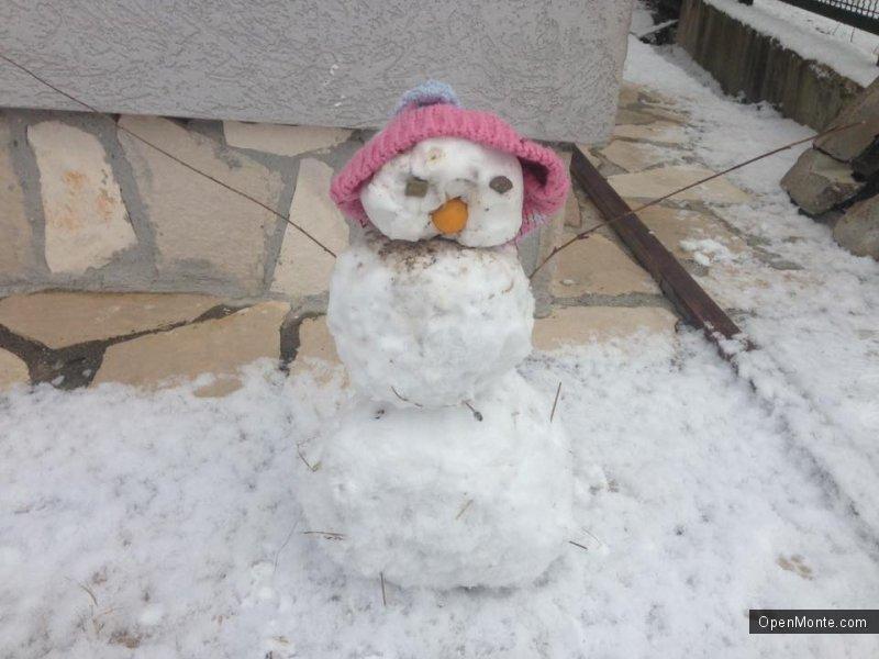 Фото Черногории: Новости Черногории: Черногория под снегом: фотопост