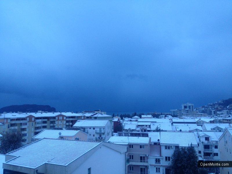 Фото Черногории: Черногория под снегом: фотопост