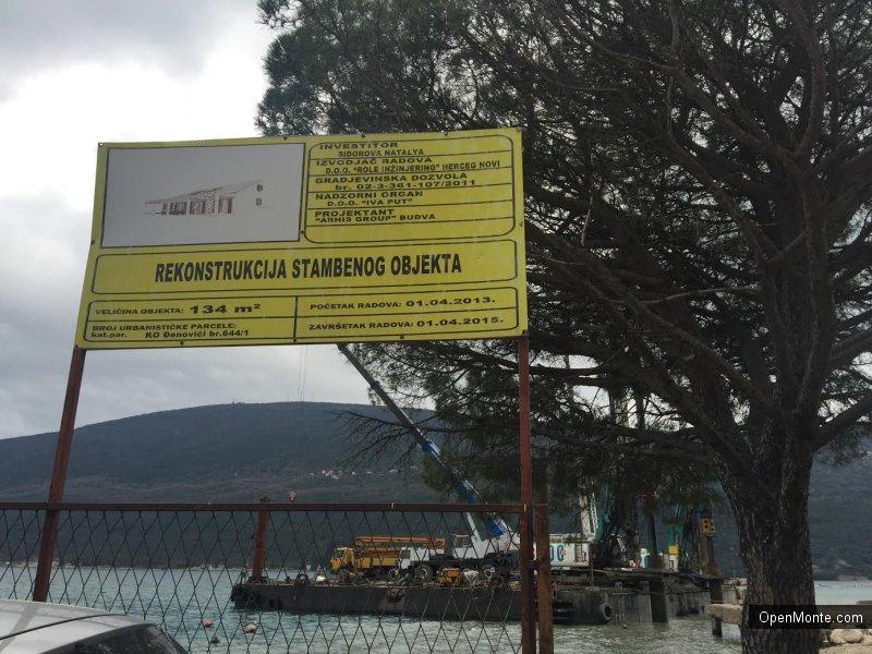 Новости Черногории: Россияне судятся с азербайджанским инвестором, который строит роскошный курорт в Черногории