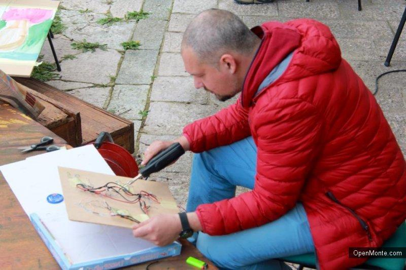 Проживание в Черногории: О Черногории: 27 марта в Доме художника в Которе состоялся интересный воркшоп
