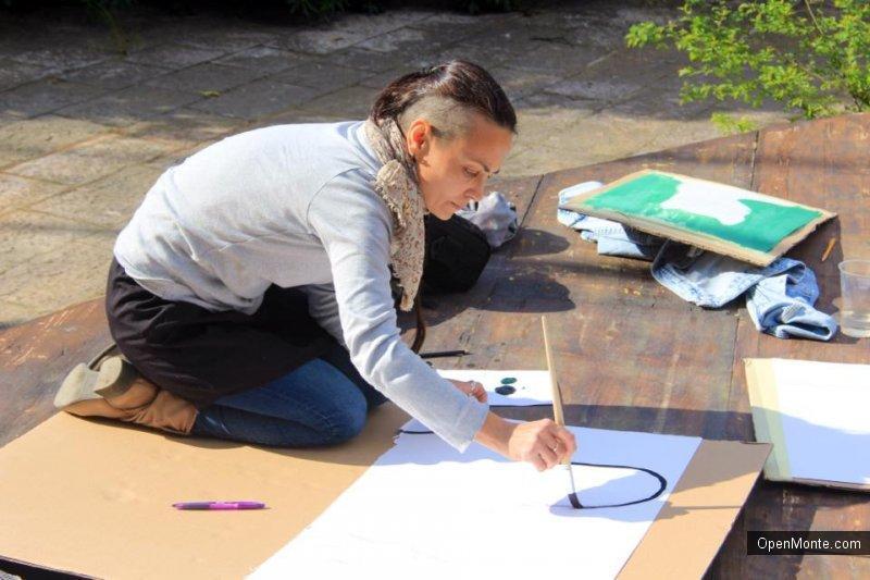 Проживание в Черногории: Воркшоп «Рисуем портреты с Жанной Кадыровой» в Доме художника в Которе: было очень весело!