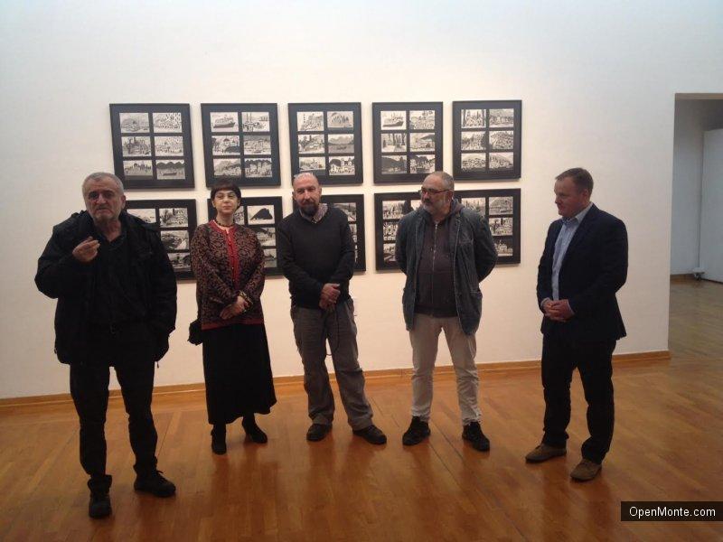 Новости Черногории: В Подгорице открылась художественная выставка Александра и Ольги Флоренских