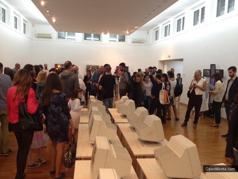 Новости Черногории: В Подгорице открылась выставка «Вторая жизнь», посвященная проникновению искусства в офис