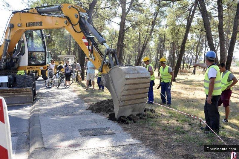 Новости Черногории: В Подгорице началось строительство велосипедной дорожки