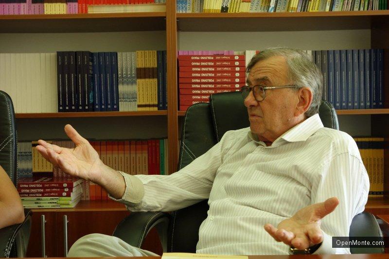 Люди Черногории: Профессор Божо Марджокич: «Наш институт может служить примером остальным высшим учебным заведениям в Черногории»