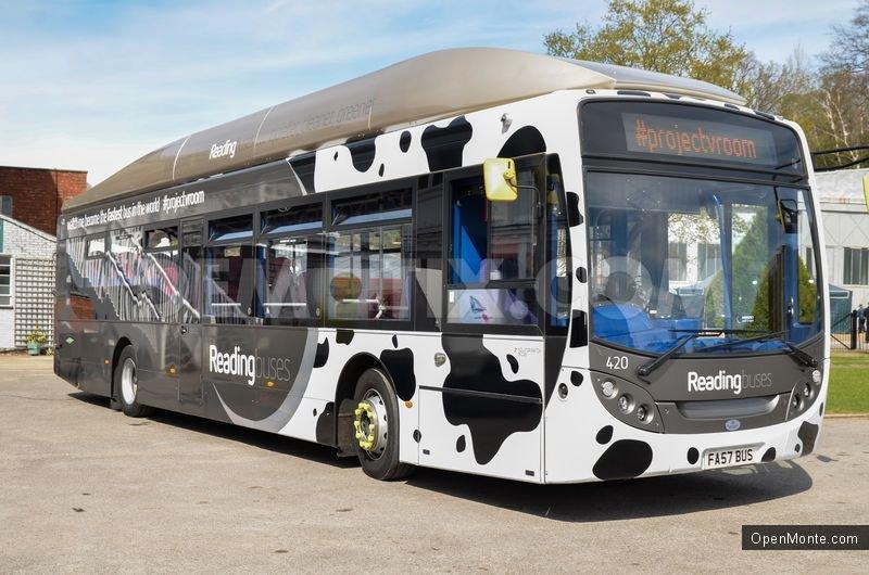 Это интересно: Автобус, ездящий на коровьем навозе, побил рекорд скорости