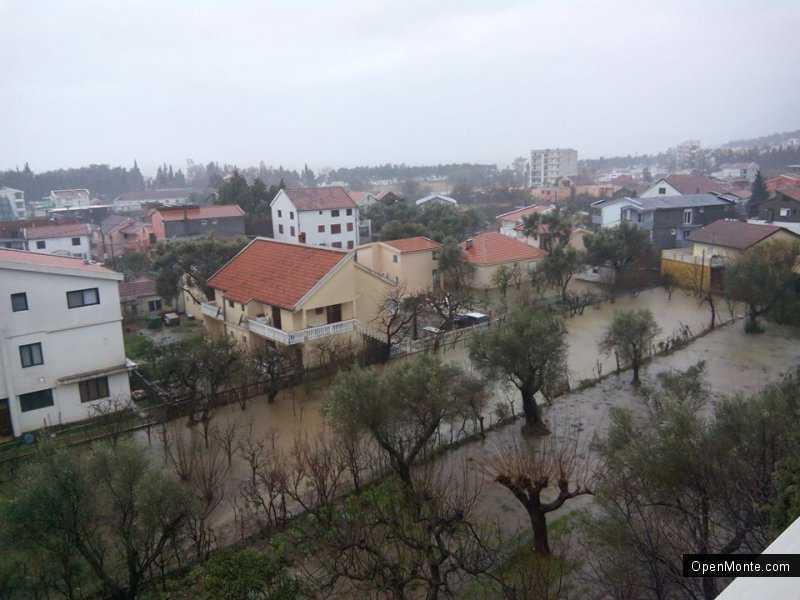 Ovo je interesantno: Crna Gora je pod vodom: gledajte fotografije iz raznih mjesta