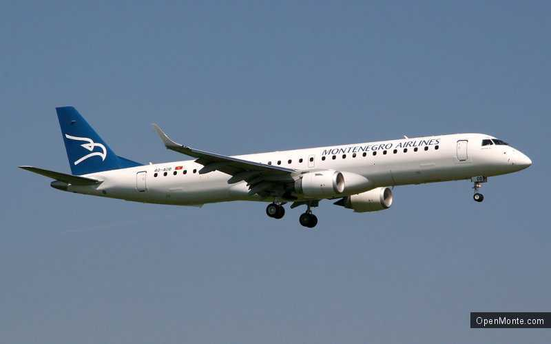 Новости Черногории: Montenegro Airlines договорилась о введении 60 чартерных рейсов из Германии в Черногорию