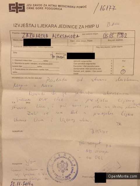 Проживание в Черногории: О Черногории: Инцидент в Баре: мужчина ударил девушку после того, как она сфотографировала его