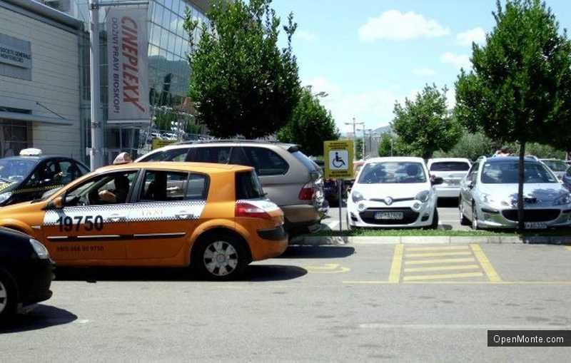 Новости Черногории: Акция против неправильной парковки прошла в Подгорице