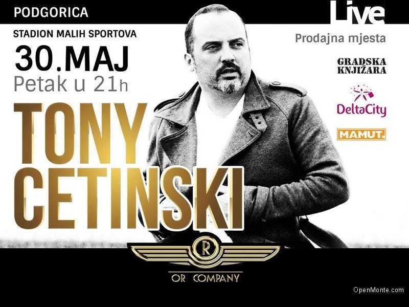 Проживание в Черногории: О Черногории: Живые эмоции от концерта Тони Цетинского