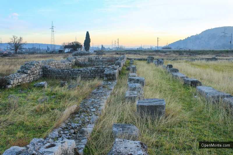 О Черногории: Римский город Дукля в Черногории