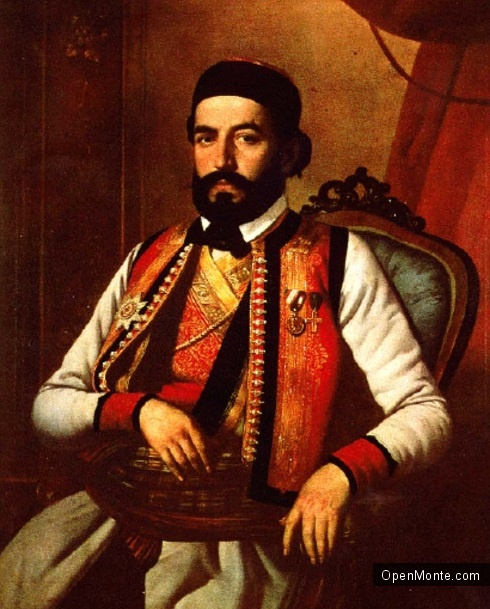 О Черногории: Великий черногорец Негош