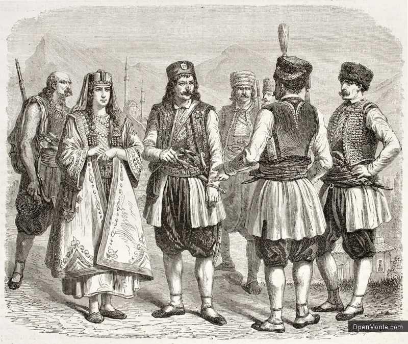 Их нравы: Черногорские традиции