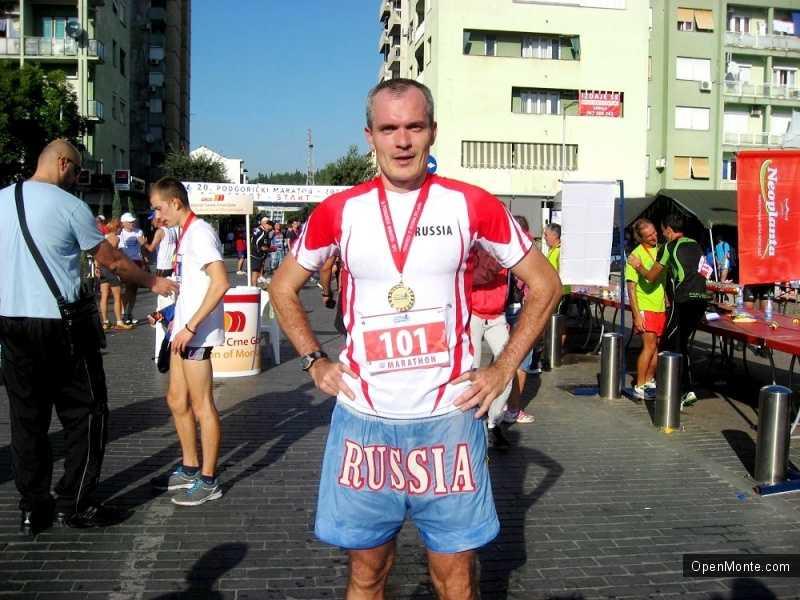 О Черногории: Люди Черногории: Дмитрий Ерохин: «Марафон в Подгорице располагает к рекордам»