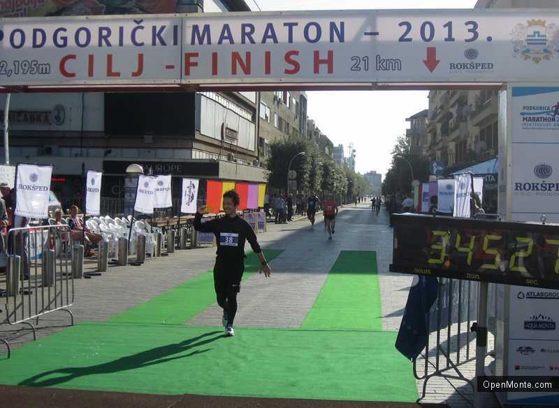 Новости Черногории: В Подгорице прошел 20-й юбилейный марафон
