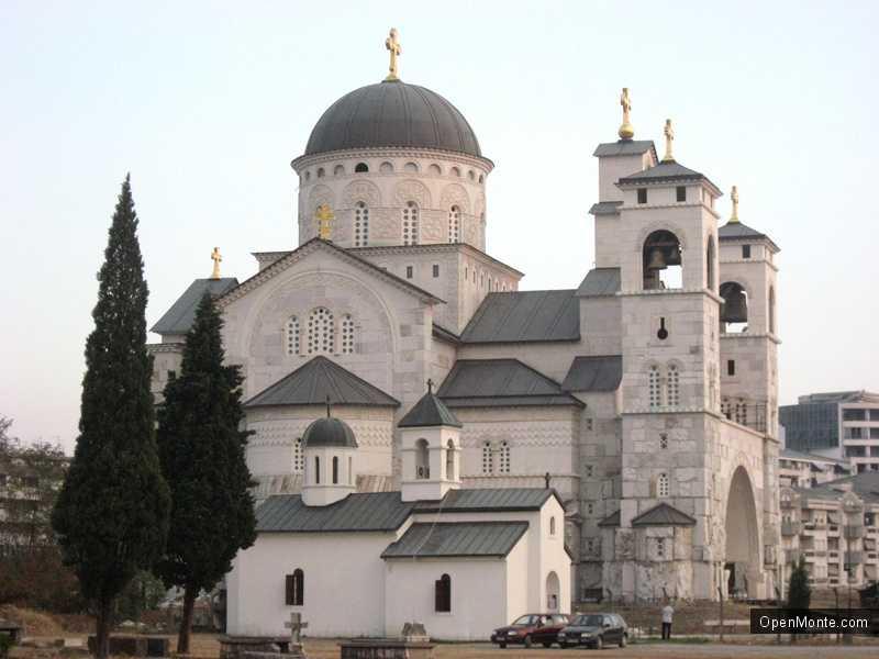 Новости Черногории: В Подгорице освящен Храм Христова Воскресения
