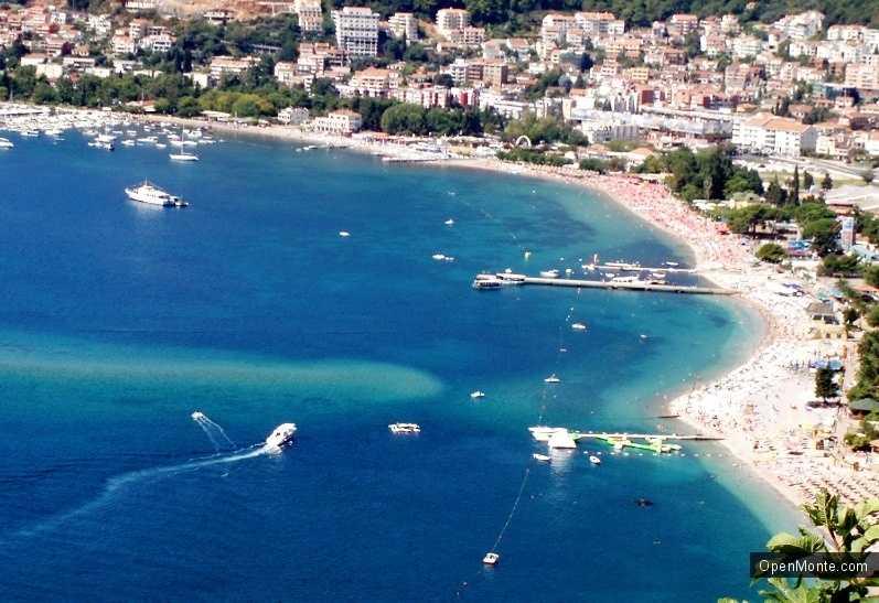 Новости Черногории: Пляжи в Будванском заливе стремительно пропадают