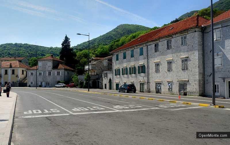Отдых в Черногории: Поселок Каменари в Черногории