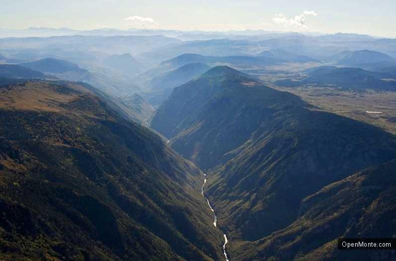 О Черногории: Река Тара в Черногории