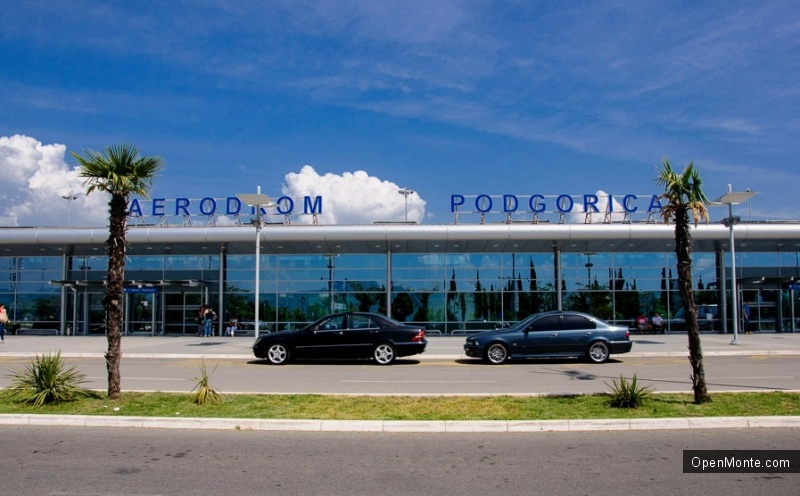 О Черногории: Аэропорты Черногории