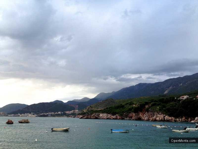 Отдых в Черногории: Поселок Пржно в Черногории