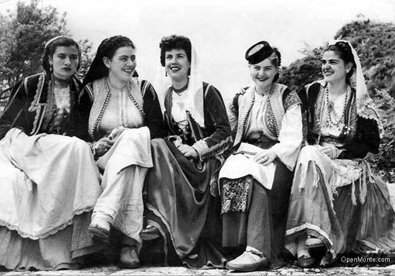 О Черногории: Население Черногории