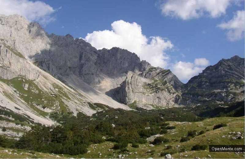 О Черногории: Горы в Черногории
