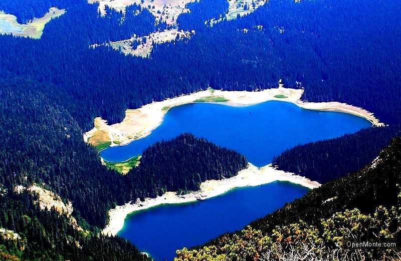 Отдых в Черногории: Черное озеро в Черногории