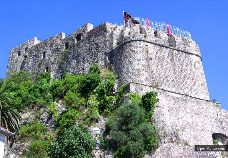 О Черногории: крепость Форте ди маре