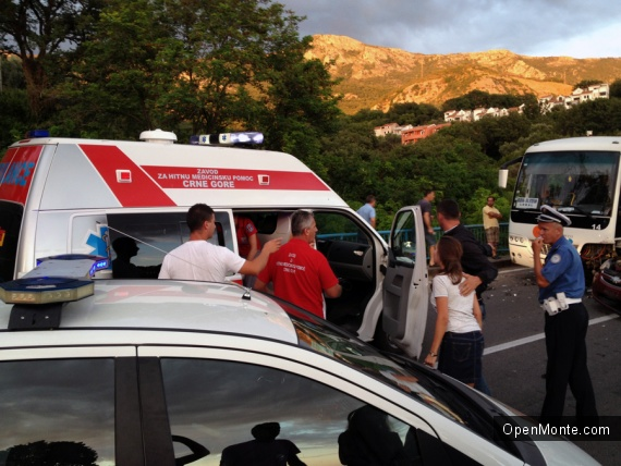 Новости Черногории: Из-за аварии пробка растянулась на километры