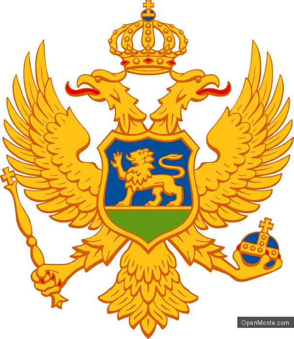 О Черногории: Герб Черногории