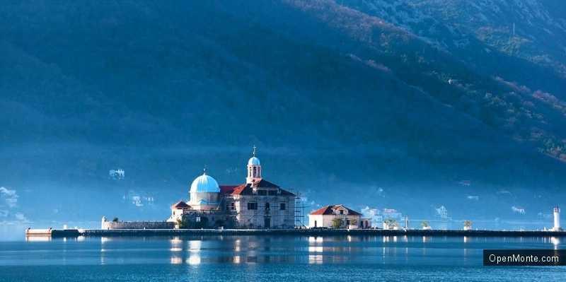 О Черногории: остров Госпа од Милости