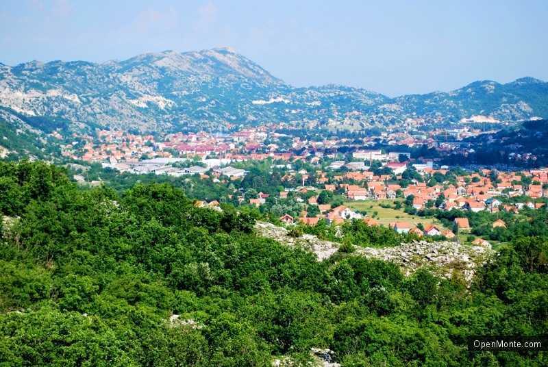 О Черногории: Город Цетинье в Черногории