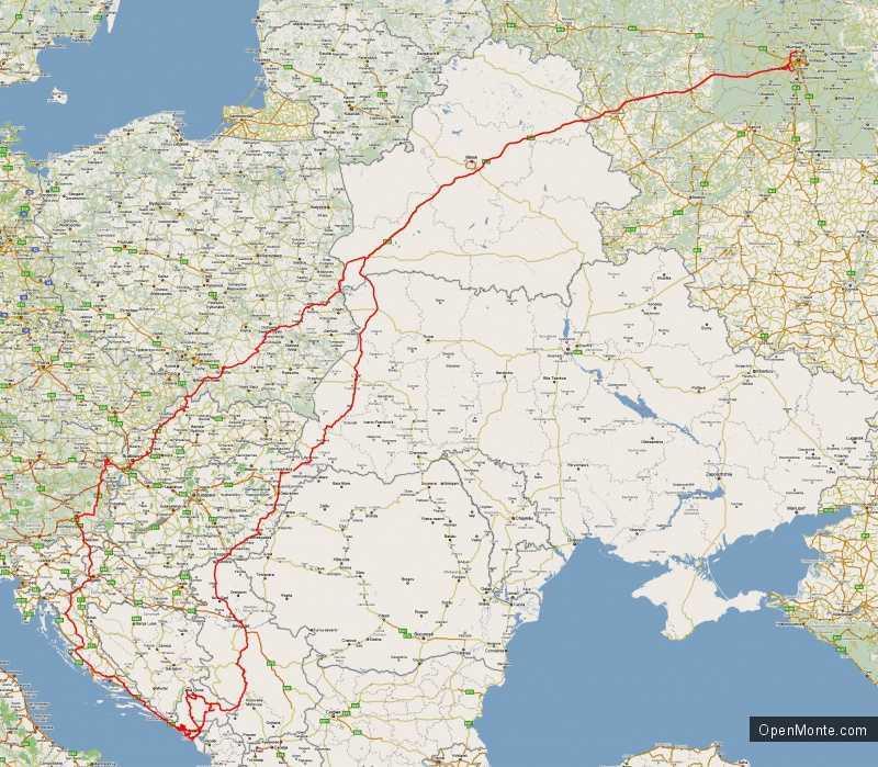 Отдых в Черногории: Путешествие в Черногорию