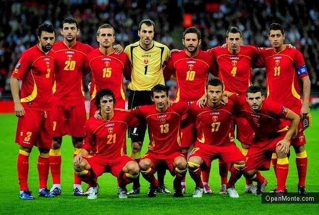 О Черногории: Футбол в Черногории