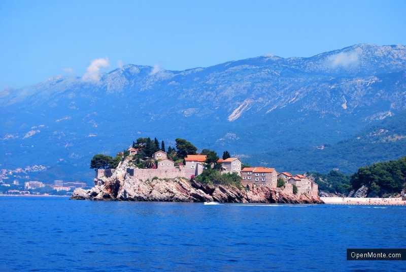Отдых в Черногории: Остров Свети Стефан в Черногории