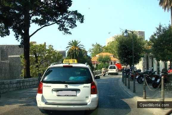 Отдых в Черногории: такси в Черногории